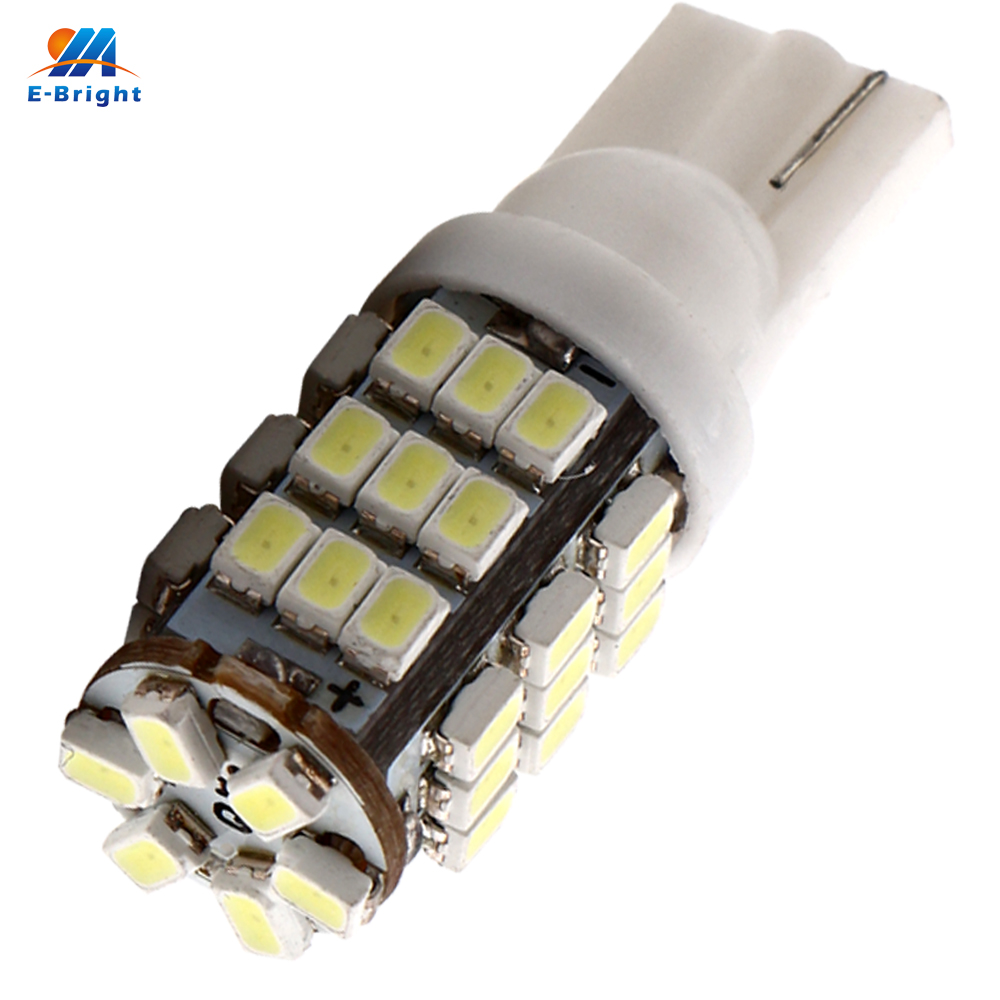 300PCS T10 1206 42 SMD 194 168 W5W 12V DC Car LED Light Automobiles Bulbs 42