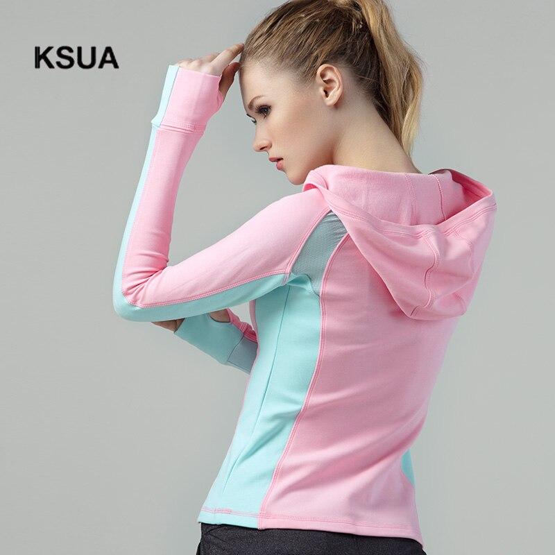 Woman Sportswear Tight Gym Fitness Hoodies Large Size Gym Cotton Sport Yoga Suit Shirt Tracksuit Yoga Hoodies Gym Clothing недорго, оригинальная цена