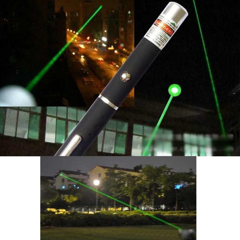 Mạnh mẽ Đỏ Xanh Dương Xanh Bút Chỉ Laser Bút Nhìn Thấy Tia Ánh Sáng 5mW Lazer 650nm