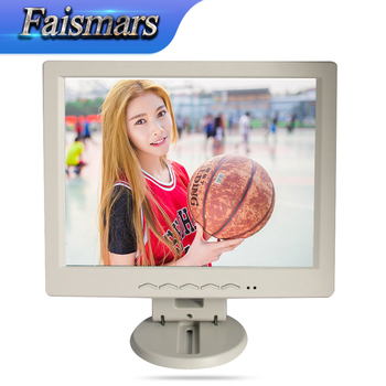 "Faismars 12 inch LCD Touch Screen POS Monitor /Touch Monitor with DVI interface/ 12.1"" Touchscreen plastic cheap display"