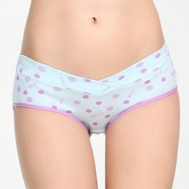 Pregnant Underwear Low-waist Pregnancy Women's Briefs Maternity Panties Underwear Plus Size Intimates Brief Maternity Clothing