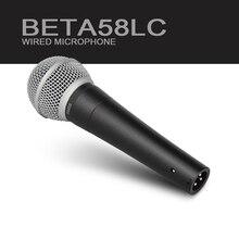 1:1! Transformador Real!!! mejor de calidad Superior!!! SM 58 58LC SM58LC Clear Sound Mano Micrófono Con Cable para Revender!!! nueva etiqueta!