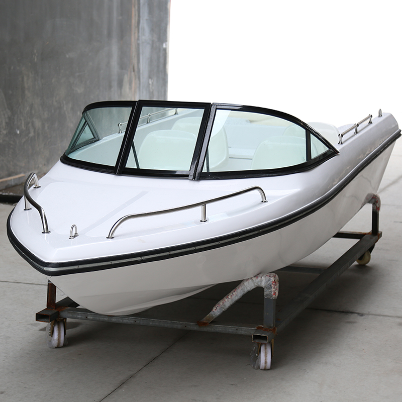 4/6/8/10 Seats Luxury Fiberglass Speed Boat Yacht Speed Boat Fishing Boat Ship Tourist Leisure Boat Vessel Water Sports
