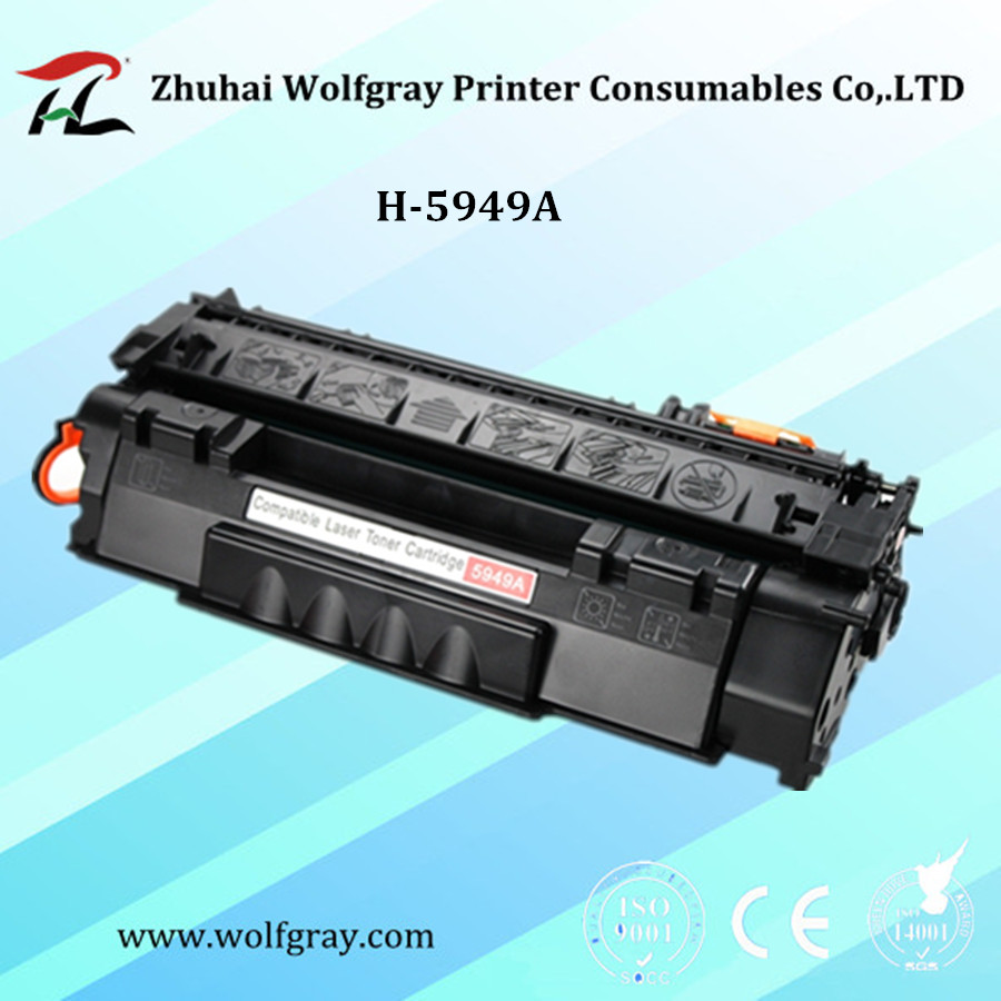 Compatible Q5949A 5949A 5949 toner cartridge for HP LaserJet 1160/1320/1320N/1320TN/3390/3392