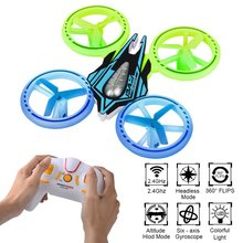 JXD 399 2 4G 4CH 6 Axis Mini UFO RC Quadcopter Drone w Headless Mode 360