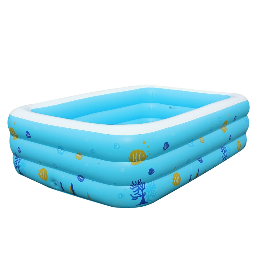 Inflatable Swimming Pool For Kids Float Large Inflatable Swimming Pool Center Lounge Family Kids Water Play Fun Backyard Toy dia 8m large inflatable swimming pool with dome and trampoline water fun game sports park