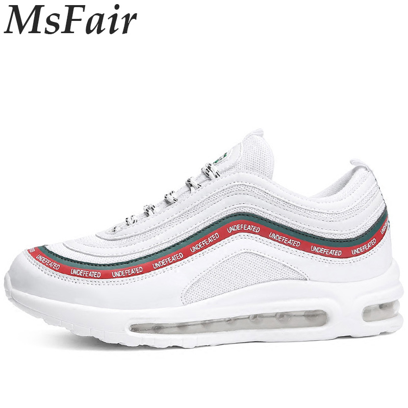 MSFAIR Summer New Men Running Shoes Outdoor Athletic Jogging Sport Shoes For Male Walking Run Man Brand Breathable Mens Sneakers 2017 spring summer running shoes for men brand walking sneakers mesh breathable mens trainers jogging sport shoes cheap zapatos