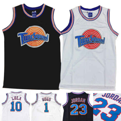 72b3790110c8 Detail Feedback Questions about Space Jam Tune Squad Basketball Jersey Lola  10 Bugs Bunny 1 White Stitched S 3XL on Aliexpress.com