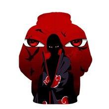 Naruto Itachi Uchiha Men Women 3D Sweatshirt Anime Hoodie