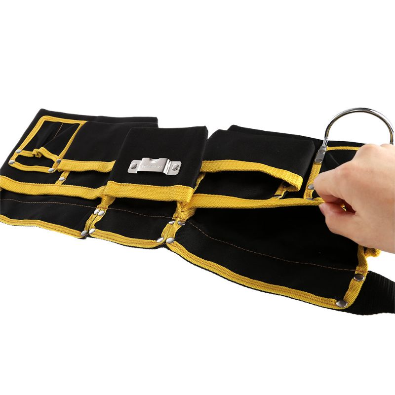 Multi-functional Electrician Tools Bag Waist Pouch Belt Storage Holder Organizer free ship 22