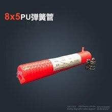 цена на 3M 6M 9M 12M 15M 29.5 Ft 8mm x 5mm Flexible PU Recoil Hose Tube for Compressor Air Tool