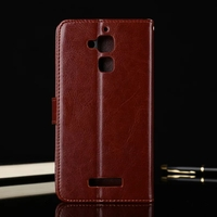 For Asus ZenFone 3 Max ZC520TL Case 5 2 Inch Flip Wallet Leather Cover For ZenFone