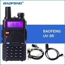 Baofeng УФ-5R Портативный Портативной Рации UV5R UHF VHF Dual Band Двухстороннее Радио 5r Handheld Рации Хэм CB Радио Commmunicator