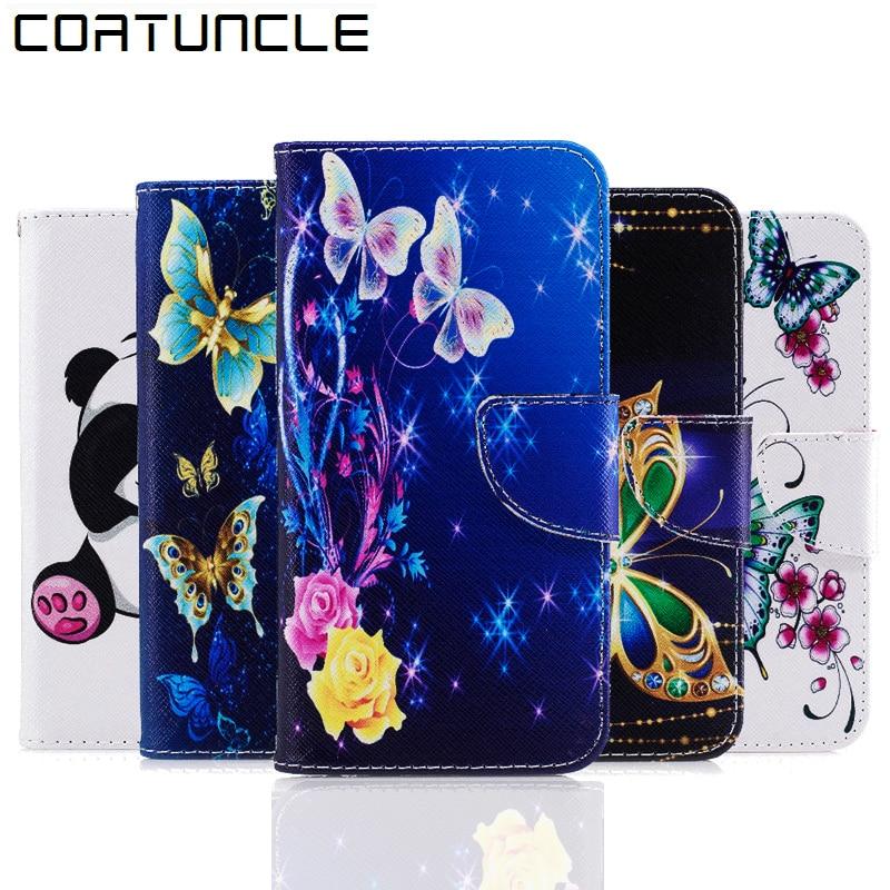 COATONCLE Για θήκη Huawei P10 Lite Flip PU δερμάτινο - Ανταλλακτικά και αξεσουάρ κινητών τηλεφώνων - Φωτογραφία 1