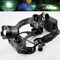 New 2000 Lumen XM-L T6 LED Zoomable Headlight Head Torch Lamp Headlamp Flashlight 3-modes Camping Fishing Climbing lamp