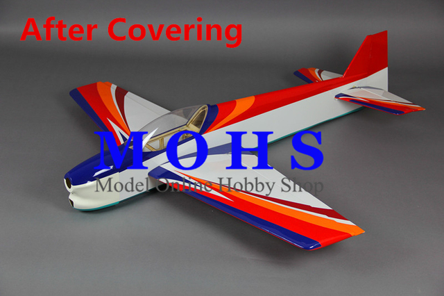 ALL NEW DESIGN balsa wood rc airplane kits F3A kits COMBO with canopy cowl landing gear & ALL NEW DESIGN balsa wood rc airplane kits F3A kits COMBO with ...