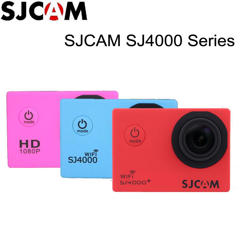 Prix pour 100% D'origine Sjcam 2 ''Écran Sj4000 SJ4000 WIFI SJ4000 Plus WiFi 30 M Plongée Étanche Mini Action Sports Caméra Sj Cam DVR