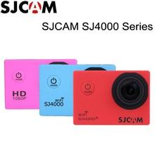 100% оригинал sjcam sj4000 sj4000 wifi sj4000 плюс wi-fi 4000 серии 30 М Водонепроницаемый Дайвинг Мини Камера Action Sports Sj Cam DVR