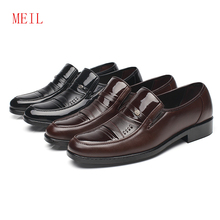Classic Men Formal Leather Shoes MEIL Brand Cheap Derby Oxford for 2019 Elegant Comfort Business Mens Dress Loafers