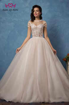 Two in one Tulle Wedding Dresses New 2019 Illusion Sexy Mermaid Wedding Dress With Detachable Skirt Plus Size Bridal Gown W0077 - DISCOUNT ITEM  33% OFF All Category
