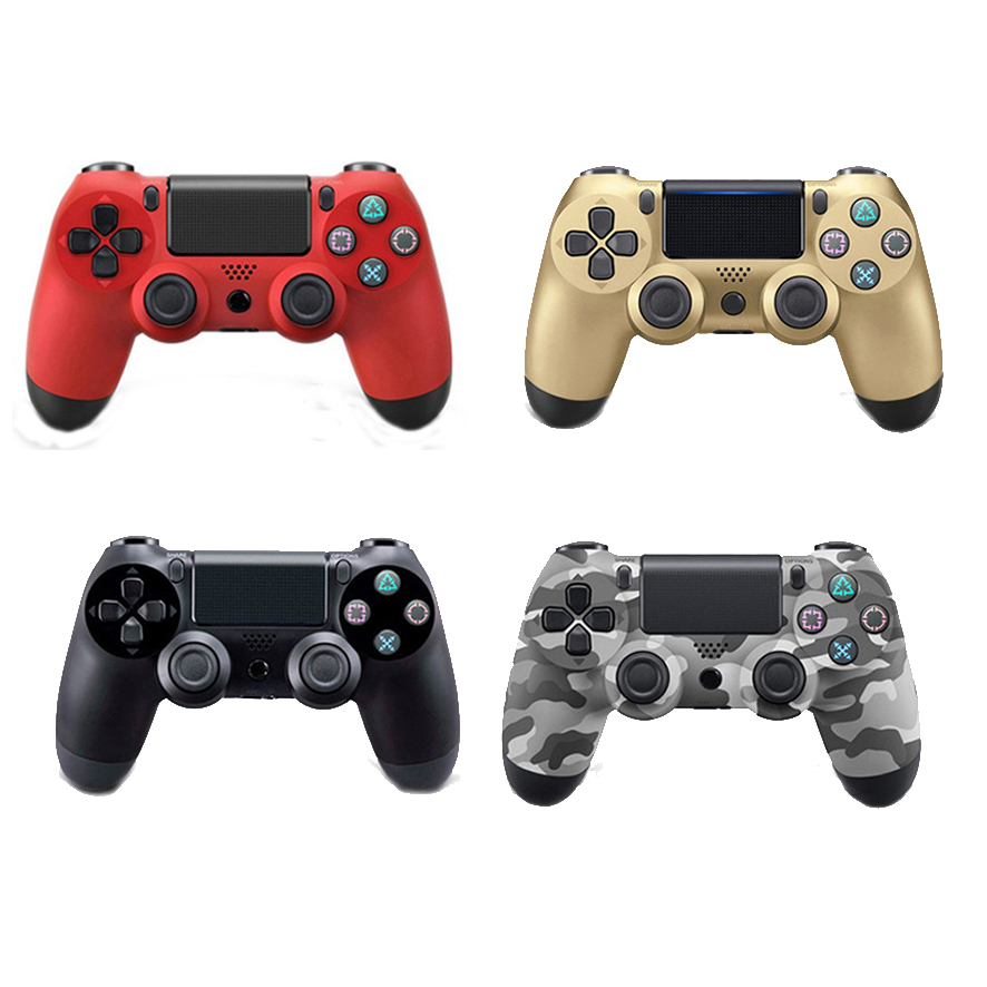 Bluetooth Wireless Gamepad Remote Controller for Sony Playstation 4 PS4 Controller For PlayStation 4 Dualshock4 Joystick Gamepad 1pcs black wireless game gaming bluetooth chatpad message keyboard for sony for playstation 4 for ps4 controller with usb cable