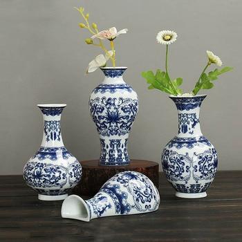 Antique Traditional Art Porcelain Flower Vase