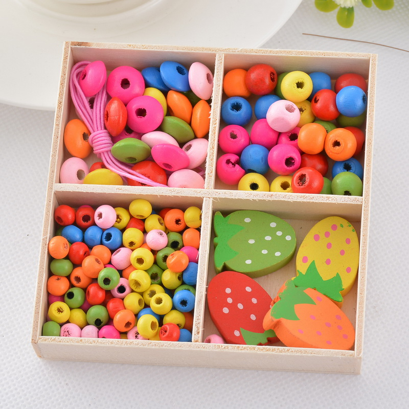 Lasperal beads kit for kid children diy crafts candy color for Bead craft ideas for kids
