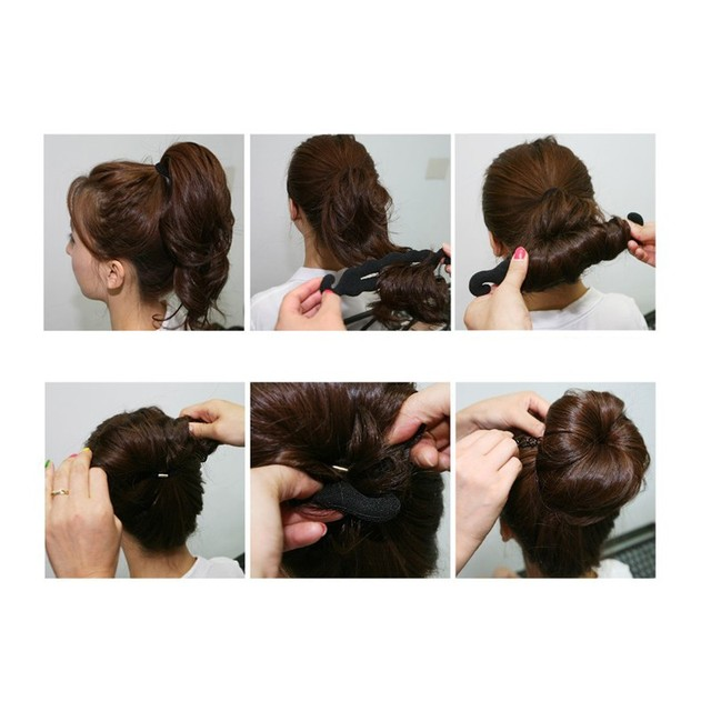 Women's Hair Twist Hair Styling Tools 2 pcs Set