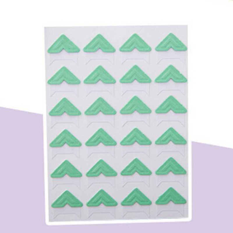 Hot Bán 9 Màu Sắc Phim Hoạt Hình Dễ Thương Ảnh Corner Stickers Đối Với TỰ LÀM Ảnh Bé Album Hoặc Sổ Lưu Niệm Album 24 cái/ tấm