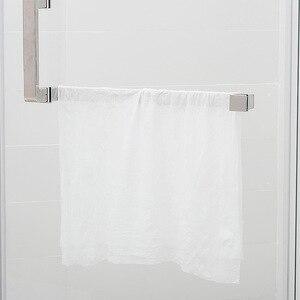 Image 2 - Novel 5 pcs wegwerp compressed travel towel Hotel zakenreis gecomprimeerd vierkante katoenen handdoek eenmaal Draagbare handdoeken Hot AB158