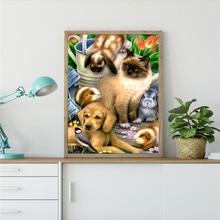 DIY 5D parts diamond painting animal mosaic cross-stitch rhinestone decoration gift