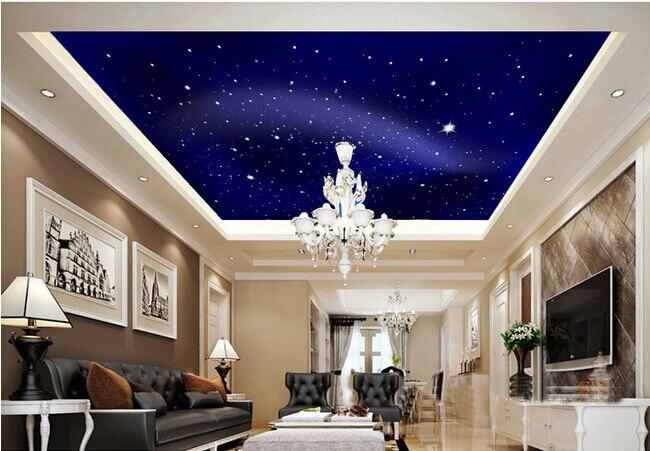 Compre papel de parede universo estrelas for Unique ceiling ideas for your home