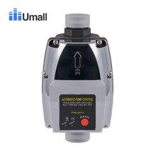 Регулятор давления воды пусковой контроллер регулируемый 1 дюйм труба автоматический насос контроль ВКЛ. Выкл. Массовый выключатель потока 110 В