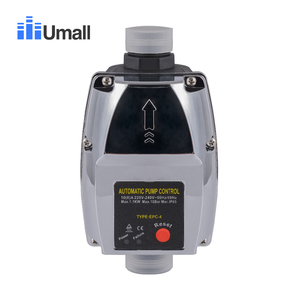 Water Pressure Booster Starting Controller Adjustable 1 Inch Pipe automatic pump control on off mass flow Switch 110V(China)