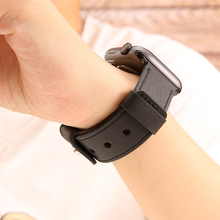 42mm 38mm strap for apple watch band 44mm 40mm Leather iwatch correa series 4/3/2/1 bracelet watchband aple watch Accessories leather strap for apple watch band correa aple watch 42mm 38mm bracelet wrist wristband for iwatch series 3 2 1 replacement belt