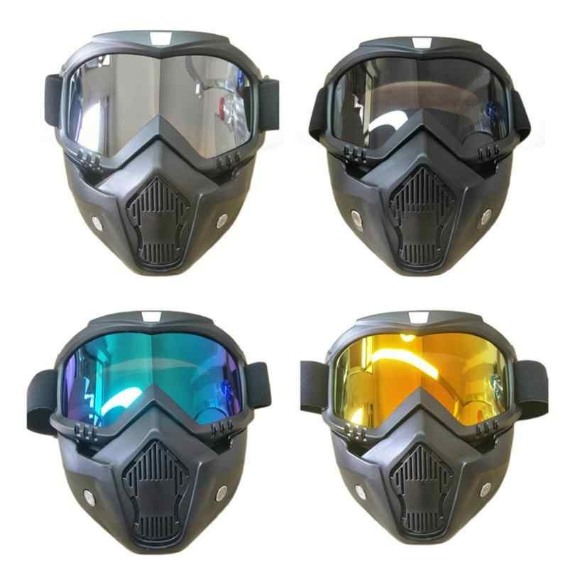 Taktis Ski Kacamata Wanita Salju Kacamata Cepat Helm Aksesoris Wanita untuk Snowboard Ski Lens Bersepeda Kacamata Helm Masker