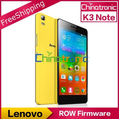 Цена за На складе оригинальный подарок lenovo k3 note k50 t3s глобальной прошивки мобильного Телефона MTK6752 Окта основные Dual SIM 4 Г LTE 5.5FHD 2 ГРАММ