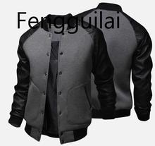 2019 New Brand Baseball Coats Jackets Fashion Design Spring Autumn Winter Sports Slim Fit Jacket Men Size XS- 5XL
