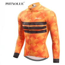 Phtxolue Winter Cycling Clothing Mountain Bicycle Wear Maillot Ropa Ciclismo Invierno Thermal Fleece MTB Bike Cycling Jersey цены онлайн