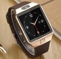 Smart watch sim/tf bluetooth para apple/android smartwatch teléfono iphone/samsung huawei pk u8gt08 reloj de múltiples idiomas