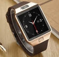 Smart watch sim/tf bluetooth para apple/android telefone iphone/samsung huawei pk u8gt08 smartwatch relógio de pulso multi línguas