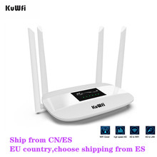 300Mbps Unlocked 4G LTE CPE Wireless Router Support SIM Card 4Pcs Antenna With LAN Port Support