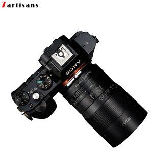 Image 4 - 7 artesãos 60mm f2.8 1:1 lente macro ampliação é adequada para o canon eosm eosr e fuji m43 nikon montagem z
