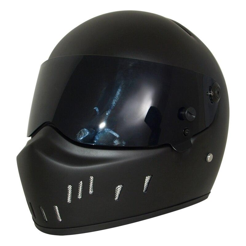 Full Face Cruiser Helmets >> Us 116 83 14 Off Cruiser Motorcycle Star Wars Predator Helmet Full Face Motorcross Monster Helmet Atv Bike Flip Up Accessory Downhill Casque Kask In