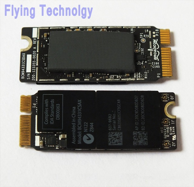 "Original Wifi Bluetooth Airport Card BCM94331CSAX For Macbook Pro 15"" A1398 13"" A1425 2012"