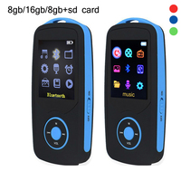 Factory Price RUIZU X06 MP3 Player 8GB Bluetooth Sports MP3 Music Player 1 8 Inch 100hours