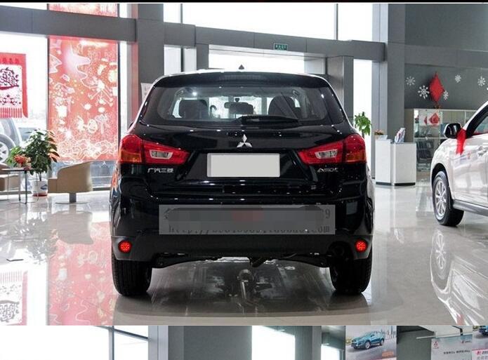 ФОТО High Power! LED rear bumper warning light for 2013 Mitsubishi ASX Car styling