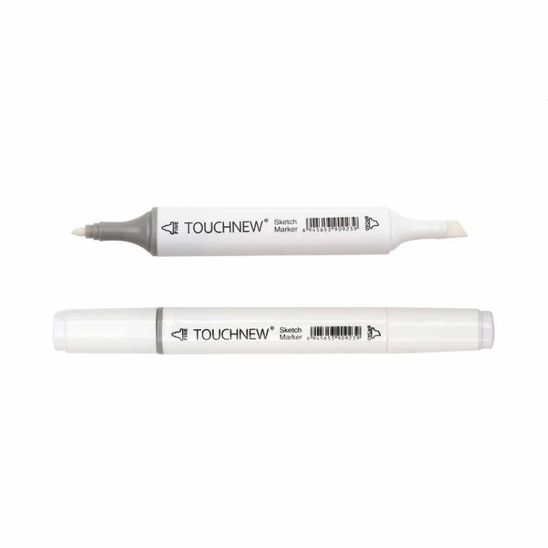 1 Pc TOQUE novo 0 # Incolor Liquidificador Conjunto Marcador duplo-Headed Esboço marcadores De Tinta À Base De álcool para O artista De mangá material de pintura