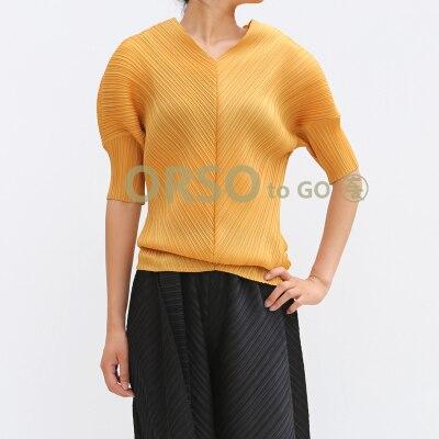 En water Gratuite gris Pli T Livraison Noir orange Blue V Mode bleu Stock Manches cou shirts Lâche Demi Style nZZwpTxP