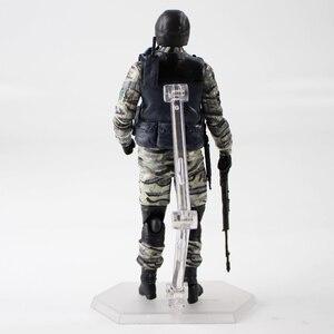 Image 3 - Metal Gear Solid 2 figurka Gurlukovich Solider MGS żołnierz broń broń zabawki modele